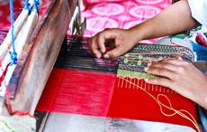Hand-made textile from Rajasthan's Bagru in trademark row