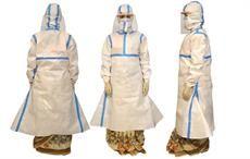 Fashionova designs PPE kit that can be worn on sari
