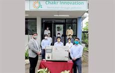 IIT startup develops ozone-based decontamination device