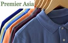 Premier Asia displaying apparel & home furnishing products