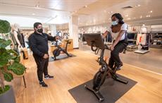 Peloton launches retail concept at John Lewis & Partners