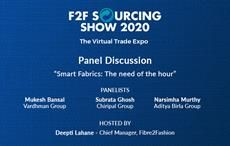 Panel discussion on smart fabrics at F2F Sourcing Show