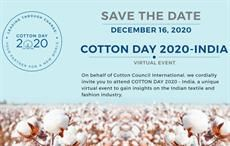 CCI's COTTON DAY 2020 – India on December 16