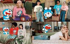 Gucci's collection featuring Doraemon for Lunar New Year
