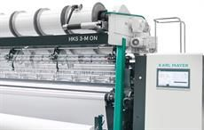Karl Mayer unveils new HKS 3-M ON tricot machine