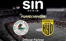 Denim brand Sin teams up with Mohun Bagan & Hyderabad FC