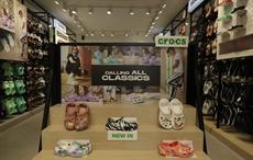 Crocs opens biggest store in India