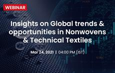 Webinar on opportunities in nonwovens & technical textiles sector