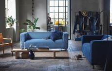 Swedish home furnishing brand IKEA makes Klippan sofa with Mud Jeans