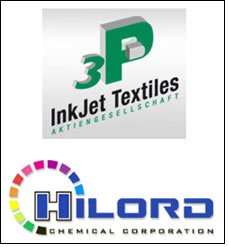 3P InkJet to distribute Hilord Chemical's textile inks