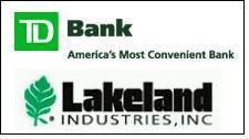 Lakeland secures revolving line of credit with TD Bank