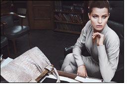 Brazilian supermodel stars in Donna Karan's fall campaign