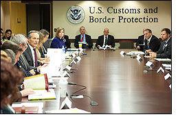 USA-ITA members meet CBP officials