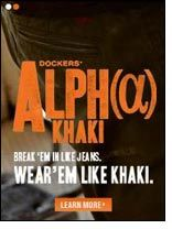Dockers launches new look with new range Alpha Khaki