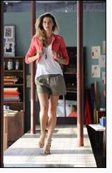 Gisele's making of new clothing collection for C&A