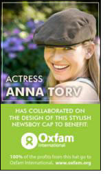 Adventure Hat ties up with Anna Torv to support Oxfam