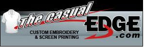 Custom screen printing by The Casual Edge
