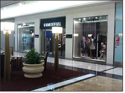 Spanish Cortefiel's first outlet arrives