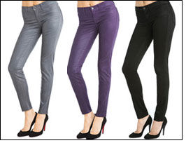 J Brand launches ultra sleek coated jeans at Paulie