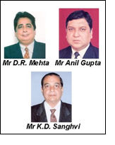 Newly elected Office Bearers, Textile Association of India