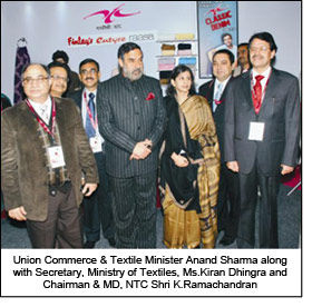 Anand Sharma lauds NTC during Tex-Trends India