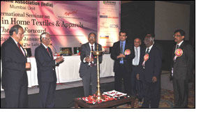 Successful seminar on home textiles & apparels by TAI