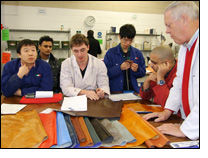 Training course on eco-friendly leather processing