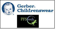 Gerber Childrenswear website goes online with PFSweb tool