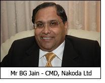 Mr BG Jain - CMD, Nakoda Ltd