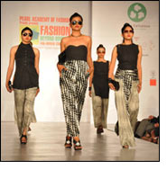 PAF graduates showcase their collections at IFFTI finale