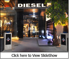 Diesel's 'Fit Your Attitude' party for women's collection