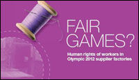 Olympic supply chains should be ethical - ITUC