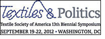 Symposium on 'Textiles & Politics' in Washington