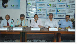Sangam to setup Center of Excellence in Textile Technology