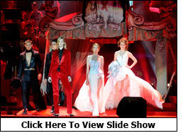 Diesel fashion show has a blast at Life Ball in Vienna