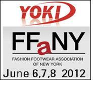 Yoki Shoes to display footwear range at FFANY trade show