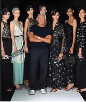 Giorgio Armani launches new S/S2013 line, Kaleidoscope