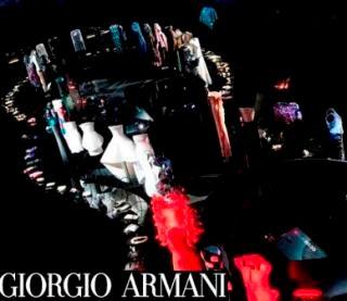 Giorgio Armani reveals dress collection at 'Eccentric'