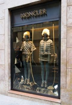 New Moncler boutique opening in Turin