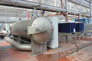 UK's first yarn dyeing application now fully operational