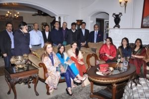 Members of Pakistan delegation during India visit