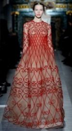 Enchanted garden inspiration for Valentino S/S line
