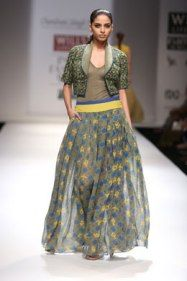 Chandrani Singh line interprets 'Effect of Rashi' at WLFW