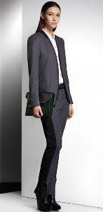 Vintage leather looks define Kenneth Cole F/W line