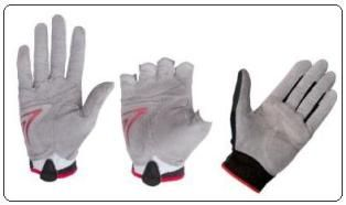 Teijin's High Strength Polyester Nanofiber used in Sports Gloves
