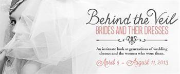 Textile History Museum to display vintage wedding dresses