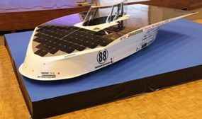 Teijin carbon fibre made solar car to race in Australia