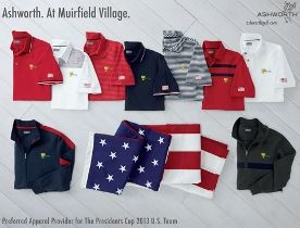 Ashworth Golf unveils US Team official apparel