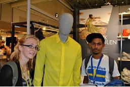 Cape Wools shows leisure wear from Core Merino at Indaba