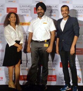 Designers Masaba & Amit to present DHL show at LFW W/F